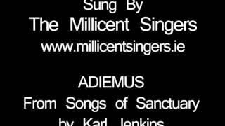 Adiemus by Karl Jenkins (From Songs of Santuary). This is a four pa...