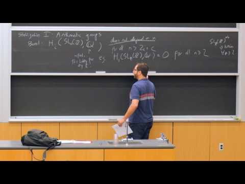 Jordan Ellenberg - Configurations, arithmetic groups, cohomology, and stability