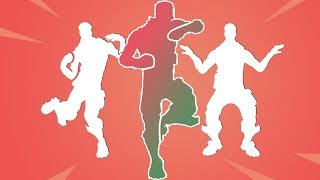 🔴 FORTNITE-MAS dances with your real music