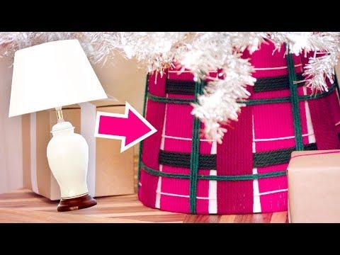 DIY Tree Skirt made from a Lampshade! - HGTV Handmade