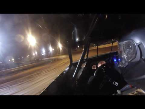 Justin Taylor in car cam Hartwell Speedway 3/12/17