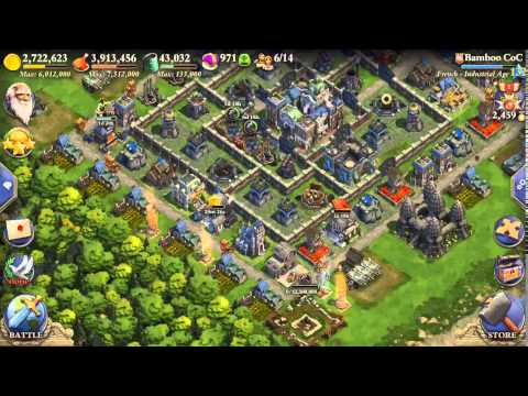 DomiNations Attacks Industrial Age, Max Units, 2400 Medals