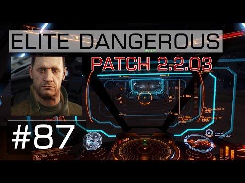 ELITE DANGEROUS | #87 | Broo Tarquin - Patch-Notes 2.2.03 (einige)