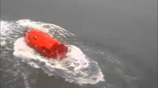 Freefall Lifeboat fail