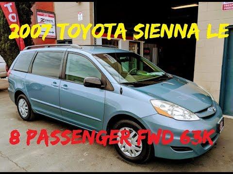 2007 Toyota Sienna LE 8 Passenger Van -SOLD