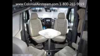2014 5 Airstream Interstate 3500 24' Extended Lounge 9 New Mercedes Sprinter Chassis Style