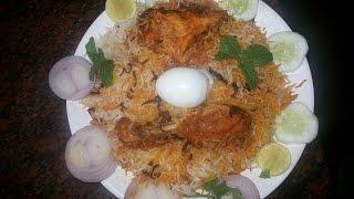 Making Of Hyderabad Biryani