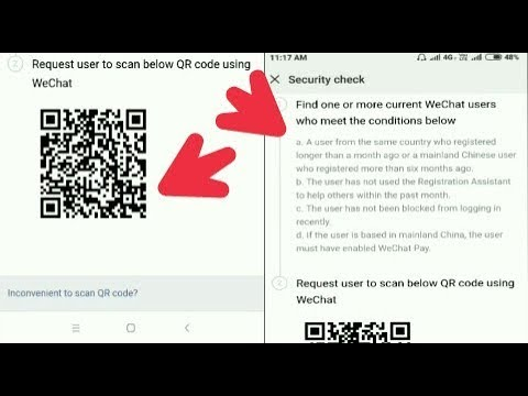 How to verify wechat without phone number