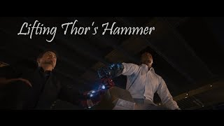 Avengers: Age of Ultron | Lifting Thor's Hammer | Movie Times | Movie Clip