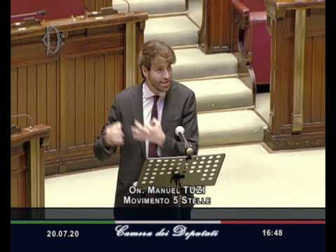 Manuel Tuzi - Intervento discussione generale commissione d'inchiesta fake news