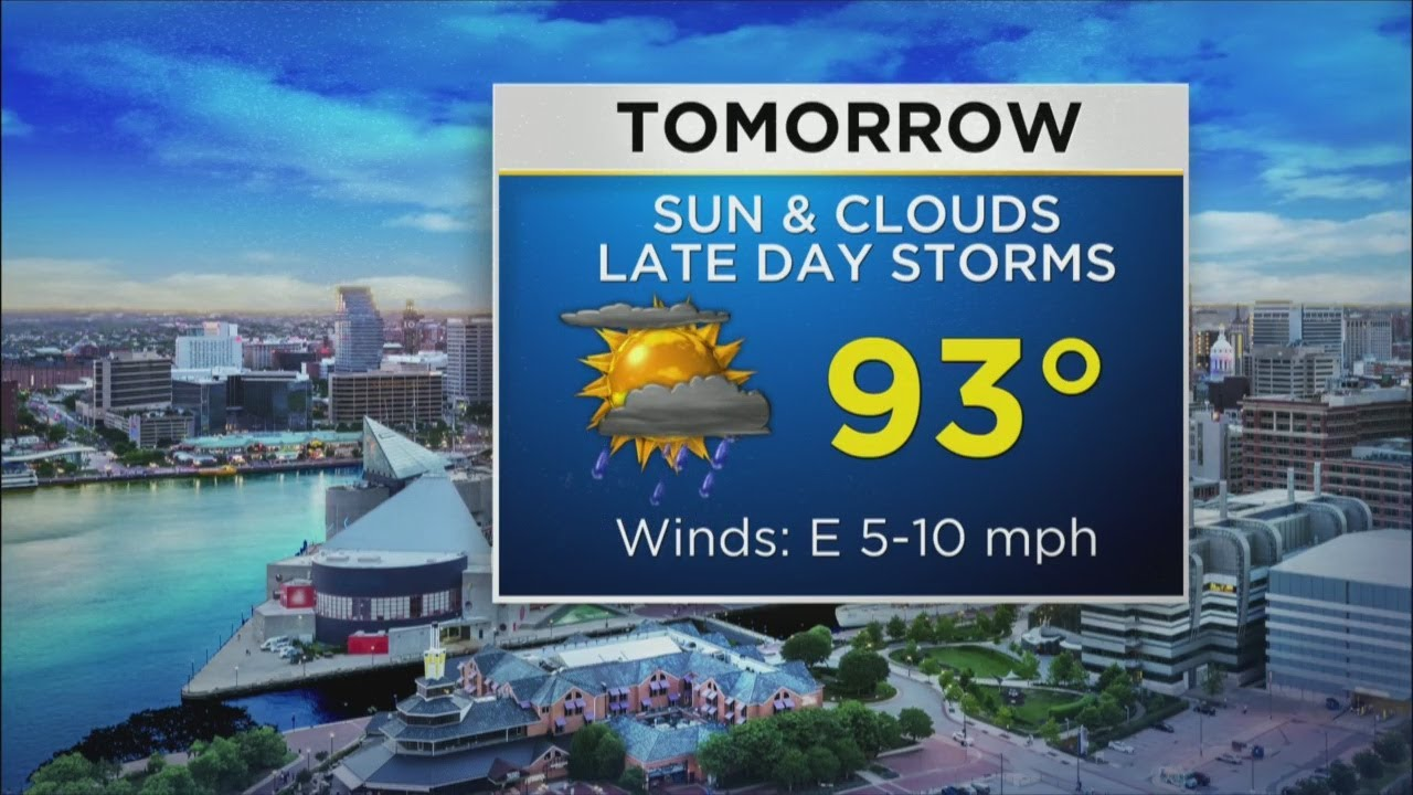 Meteorologist Chelsea Ingram Has Your Friday Afternoon Forecast