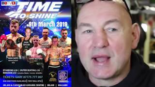 PROMO 'TIME TO SHINE' BOXING SHOW 9TH MARCH IRLAM & CADISHEAD