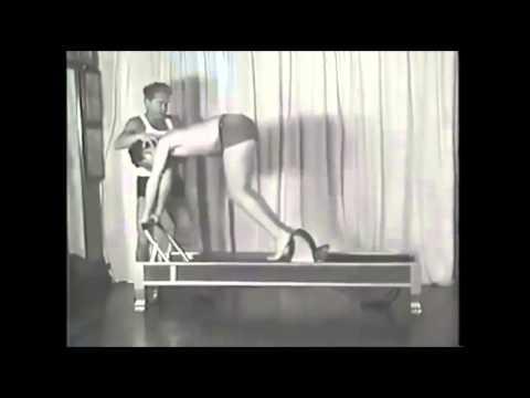 Joseph Pilates no Reformer