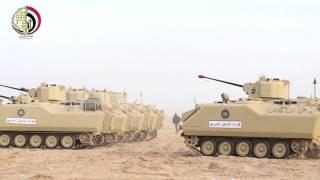 شاهد.. القوات المصرية المشاركة في تدريب 'رعد الشمال' بالسعودية