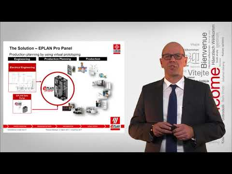Virtual Fair 2017: EPLAN solutions for control cabinet and switchgear engineering - Thomas Weichsel