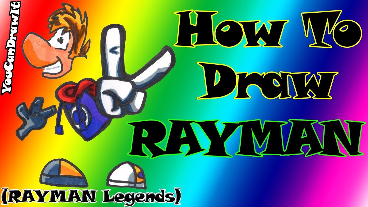 How To Draw Rayman From Rayman Legends Origins