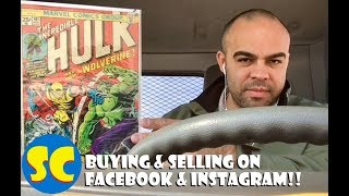 Buying and Selling on Facebook & Instagram (part 1). Plus, Incredible Hulk 181.