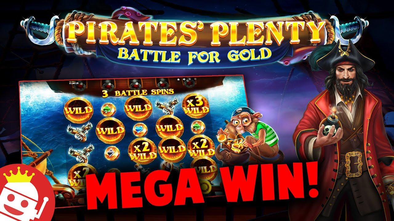 PIRATES PLENTY BATTLE FOR GOLD 🏴☠️ SUPER BIG WIN!