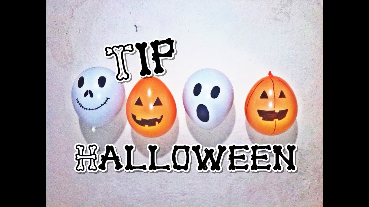 Tip como decorar en halloween con globos youtube - Manualidades para decorar halloween ...