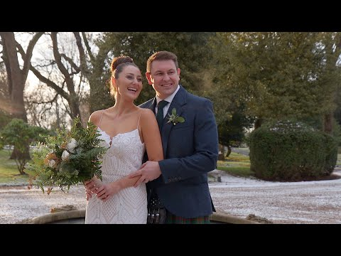Roxanne & Andrew's Carlowrie Castle Wedding Highlights
