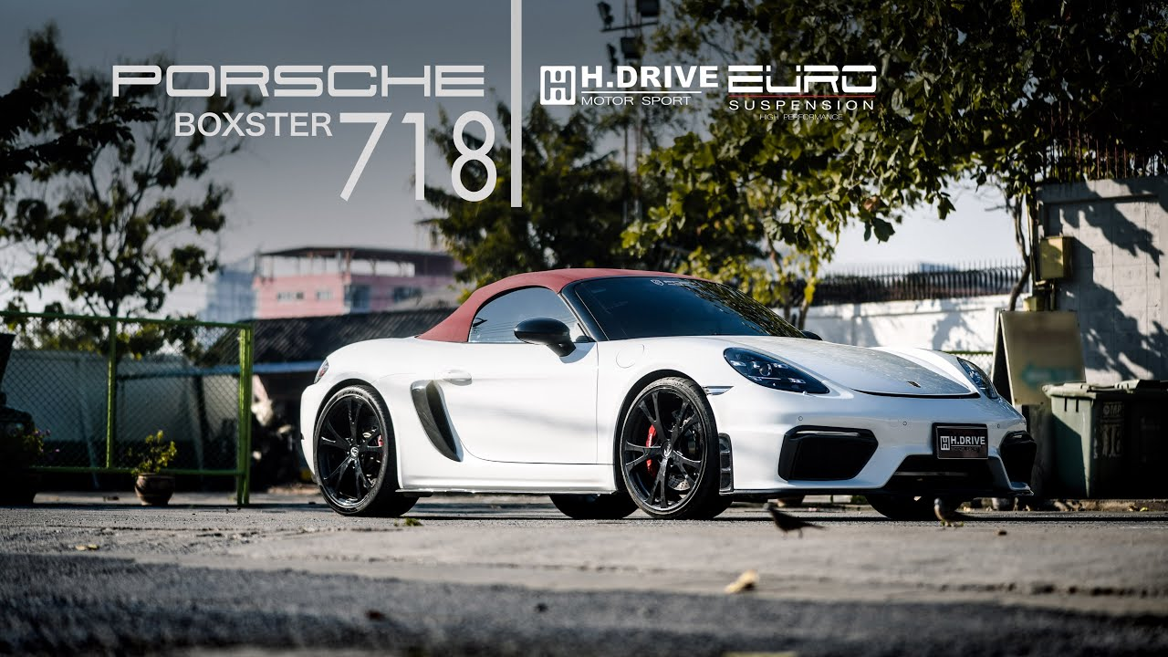 PORSCHE BOXSTER 718 By Hdrive Motor Sport