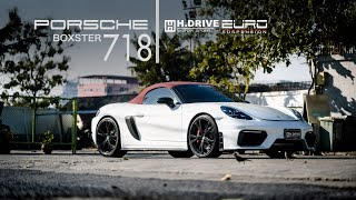 Porsche Boxster 718 by H.drive Motor Sport