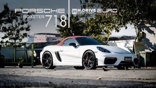 Porsche Boxster 718 by H.drive Motor Sport