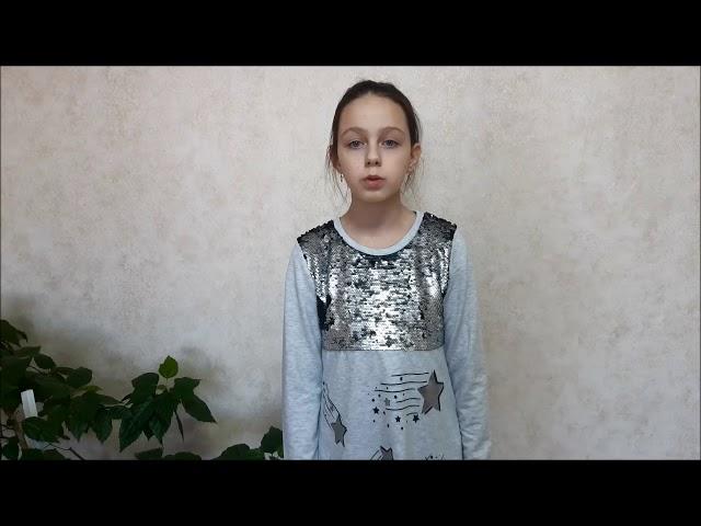 Изображение предпросмотра прочтения – СофьяБрюханова читает произведение «Только девочка» М.И.Цветаевой
