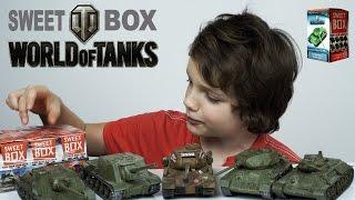 Коробочки Sweet Box World of Tanks   Коллекционные Танки Распаковка