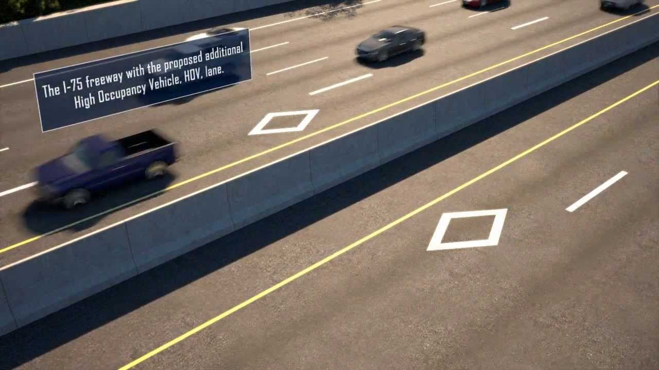 What Is Hov Lane >> High Occupancy Vehicle Hov Information Youtube
