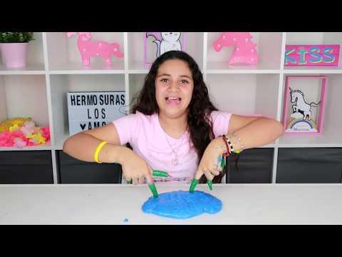 Slime con UÑAS  LARGAS | challenge | Retos con momentos divertidos