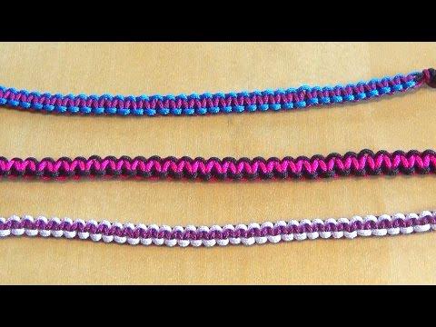 Conception innovante cba5c 1dabe Easy Square Knot Macrame Shamballa Bracelet