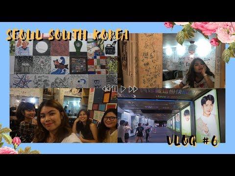 SEOUL KOREA VLOG DAY 5: LOTTE YOUNG PLAZA, LOTTE STAR AVENUE, MISS LEE CAFE