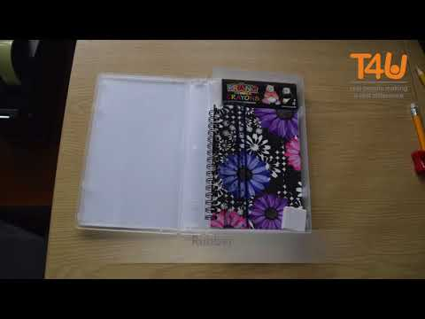 Turn an old VHS case into a Stationery Box