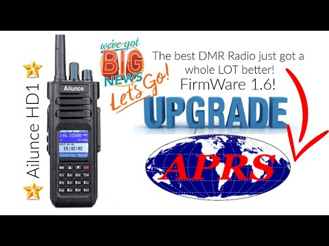 Huge news! Ailunce HD1 GPS Firmware update! 1 6 now has APRS