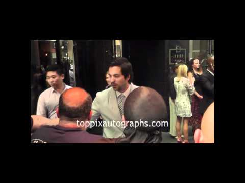 Rhys Coiro  Signing Autographs at his NYC Hotel