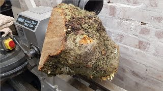 Woodturning - Apple Burl