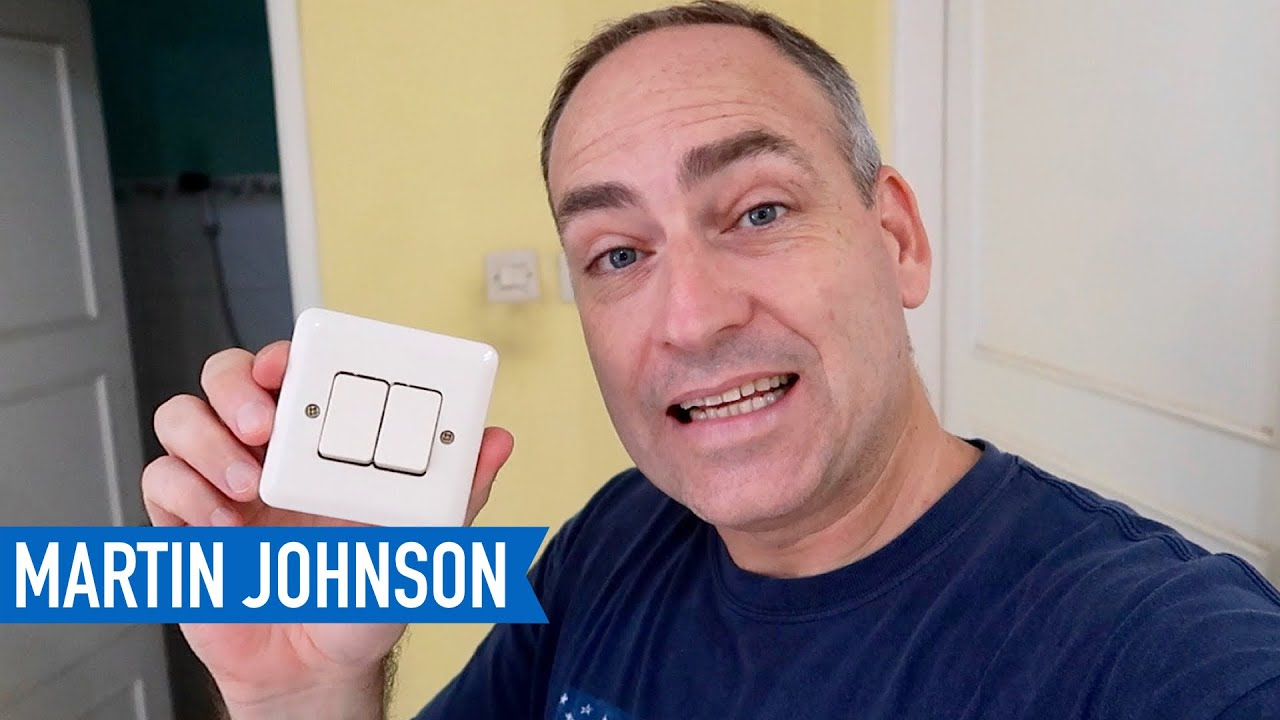 how to change a light switch youtube