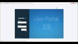 sophos xg configuring client to site ssl vpn