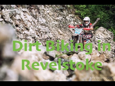 Dirt Biking in Revelstoke, BC