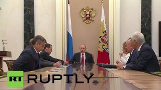 Russia: Putin meets Security Council of Russia for talks on Ukraine and Middle East