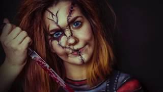 Chucky Makeup tutorial