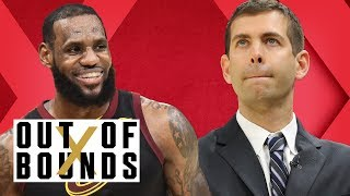 LeBron Breaks Playoff Scoring Record in Win; Is Brad Stevens' Coaching Overrated?   Out of Bounds