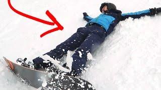 VOOR HET EERST SNOWBOARDEN! (Gaat Fout)