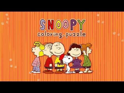 スヌーピー塗り絵パズル Google Play のアプリ
