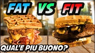 WAFFLE FOOD BATTLE FIT VS FAT thumbnail