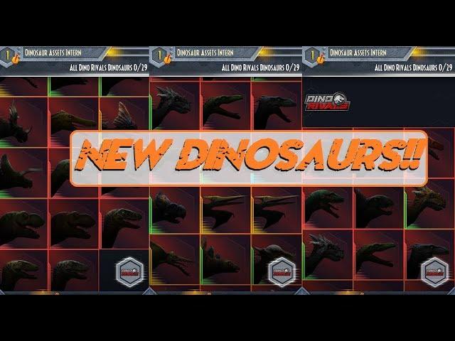 New upcoming Mattel Dinosaurs announced on Jurassic Facts App!! 2018? 2019? Jurassic World!