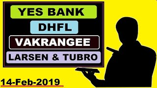 ( Yes Bank ) ( DHFL ) ( Vakrangee ) (Larsen &Tubro ) today's news and updates in Hindi by SMkC