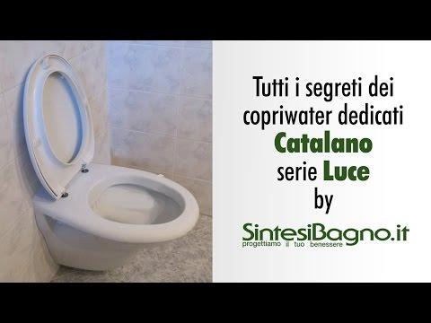 Ceramica Catalano Luce.Copriwater Catalano Serie Luce Sedili Wc Dedicati Youtube