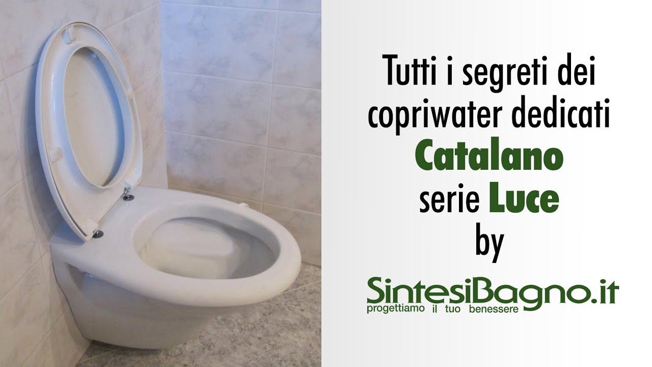 Ceramica Catalano Serie Luce.Copriwater Catalano Serie Luce Sedili Wc Dedicati Youtube
